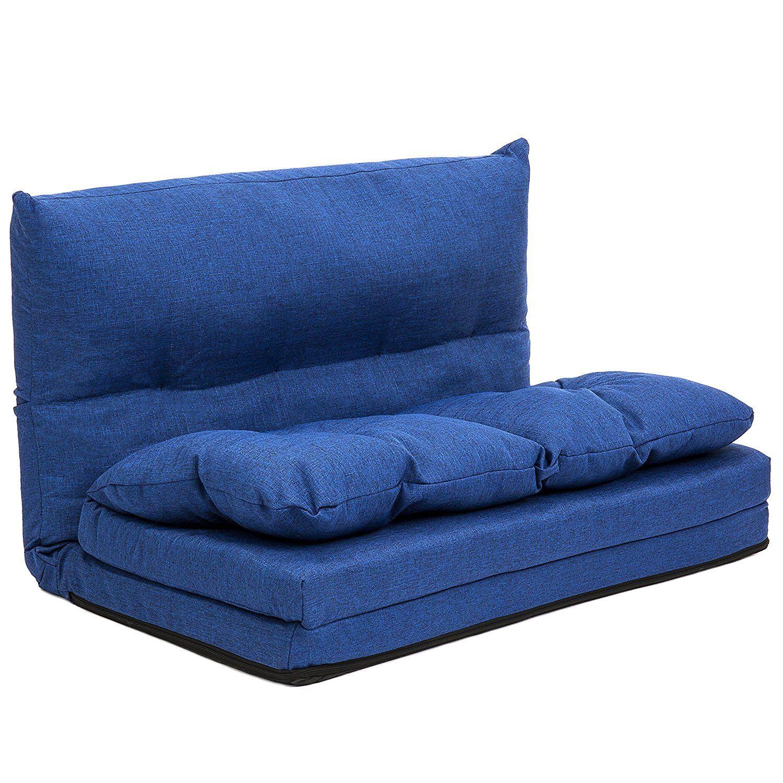 Amazon Com Best Choice Products Fabric Folding Chaise Lounge Sofa  # Muebles Bernardo Leon