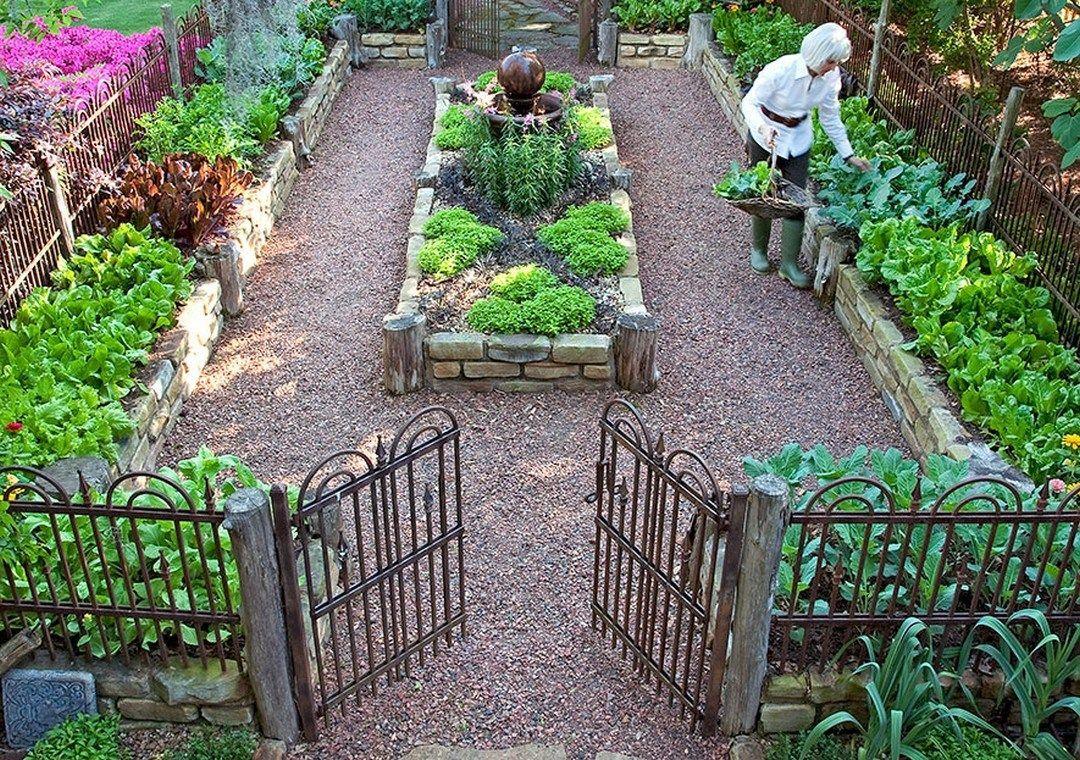 Perfect raised garden beds layout design 1