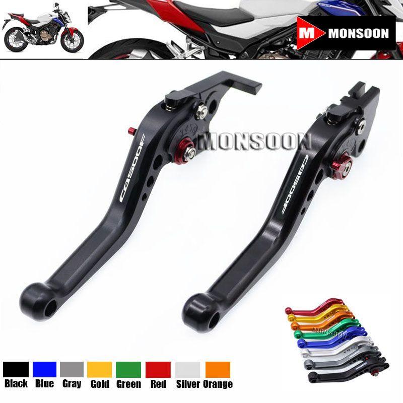 LOGO CB500F For HONDA CB 500F CB500X 2013 2016 Motorcycle Accessories Aluminum Short Brake