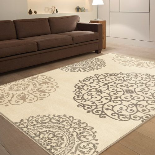 Orian Fernandez Ivory Area Rug Perfect For My Dining Room  The Pleasing Cheap Living Room Rugs Design Inspiration