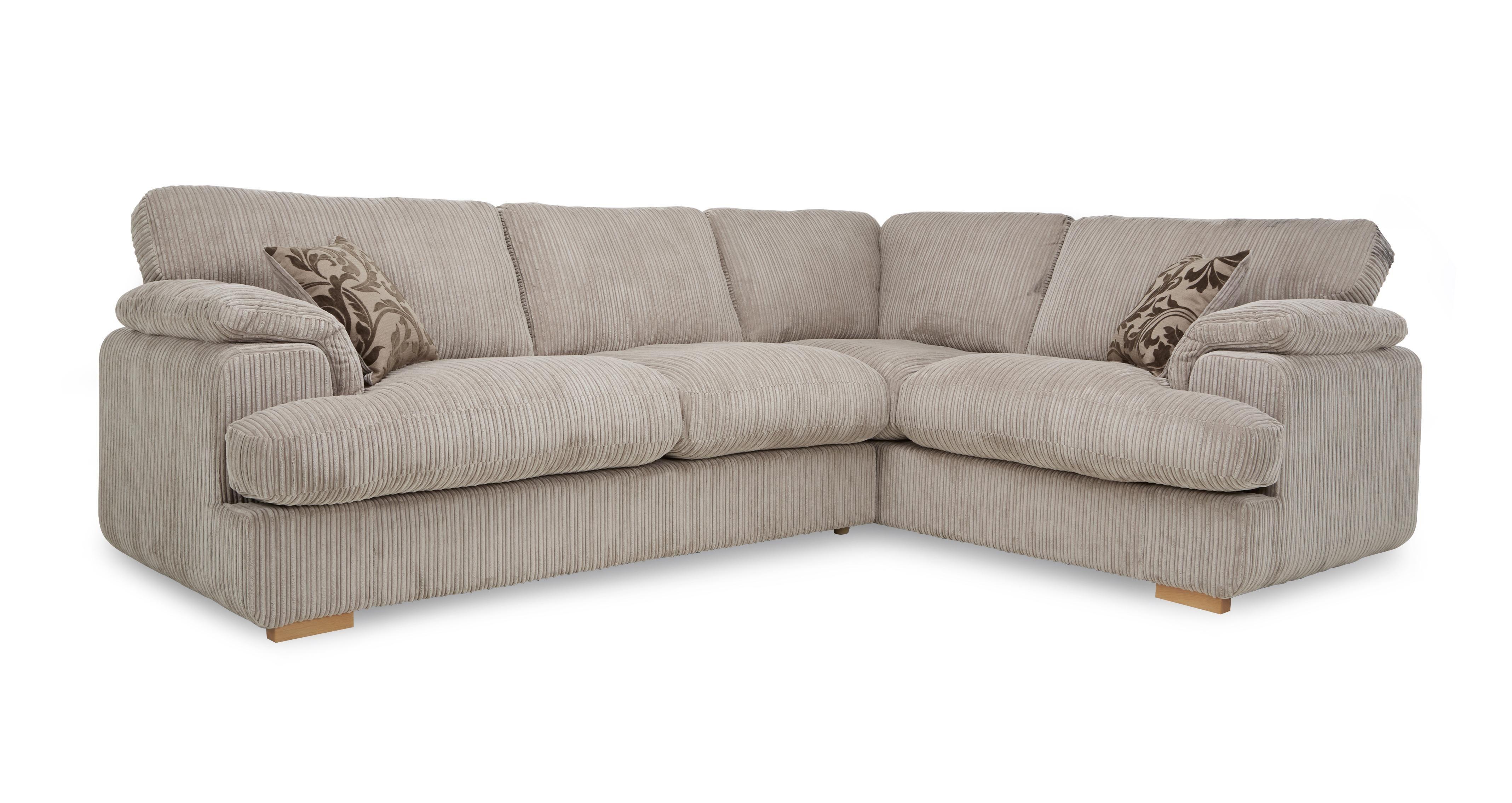 Celine Left Arm Facing 2 Seater Formal Back Deluxe Corner Sofa Bed In 2020 Corner Sofa Sofa Bed Dfs Sofa