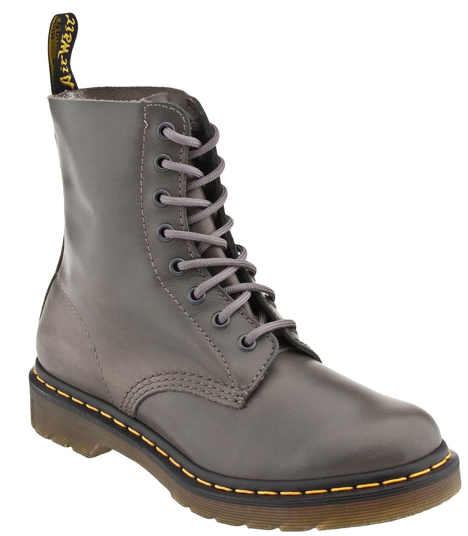 Comfort Pascal 8 eye boot leren veterboots