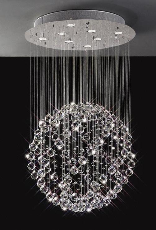 Sparkling floating crystal ball pendant chandelier chandelier sparkling floating crystal ball pendant chandelier chandelier aloadofball Gallery