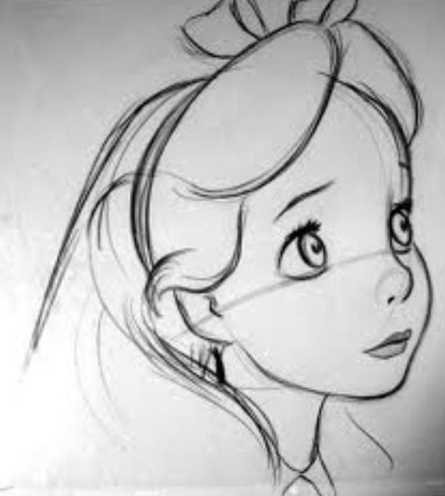 Disegni Disney Originali Di Alice Nel Paese Delle Meraviglie Cerca