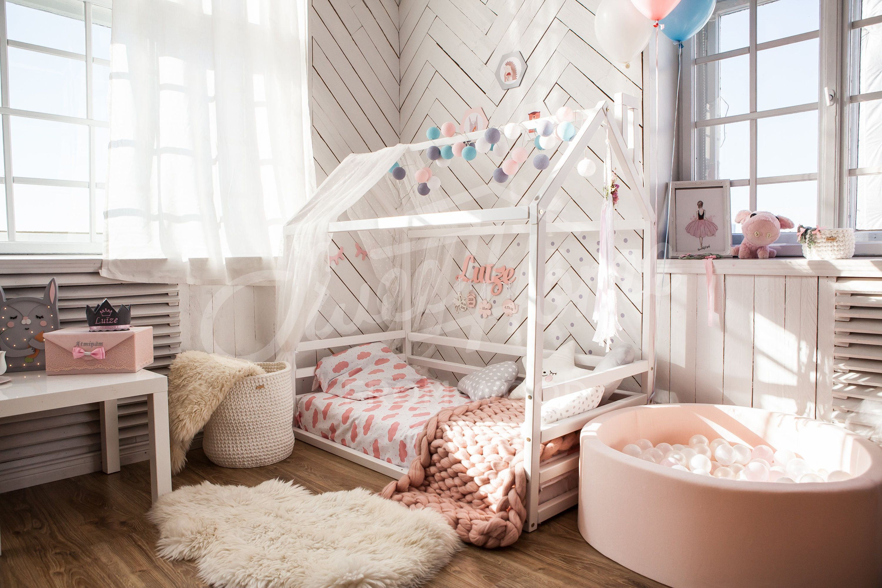 Toddler Bed Or House Bed With Slats Children Bed Frame Bed House Beds Kid Beds House Frame Bed