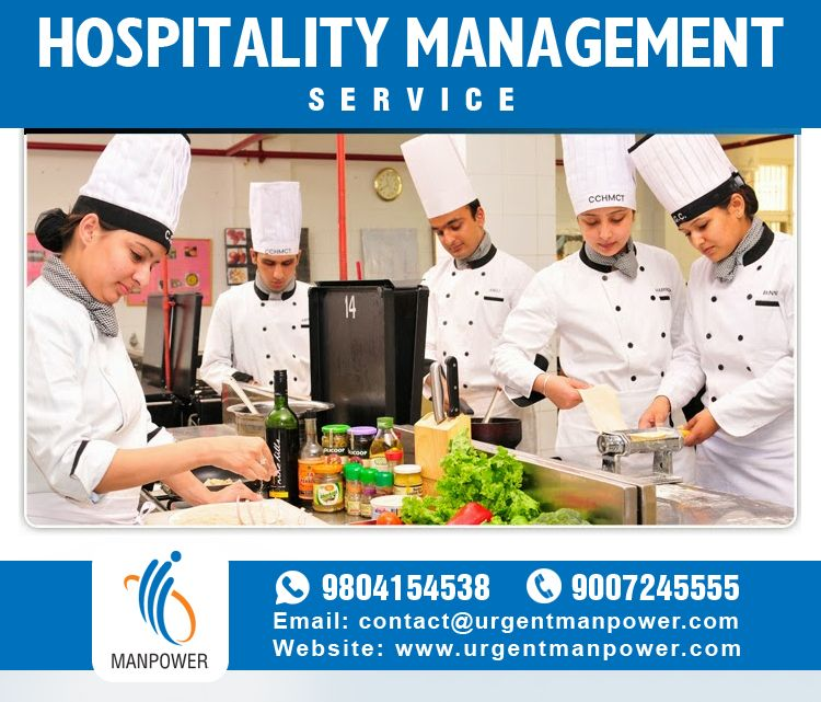 Hospitality Management Service with Urgent Man Power