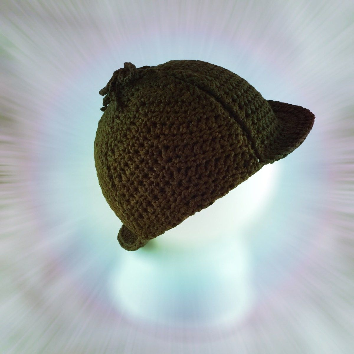 Free Crochet Pattern  Another Sherlock Holmes Hat for Babies  4d803d4310b1