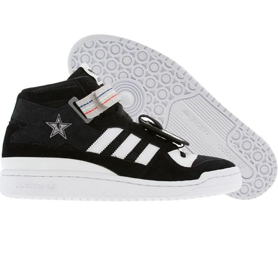 Adidas x Undefeated Forum MID (black1 / runninwhite / cogrsl) g47023