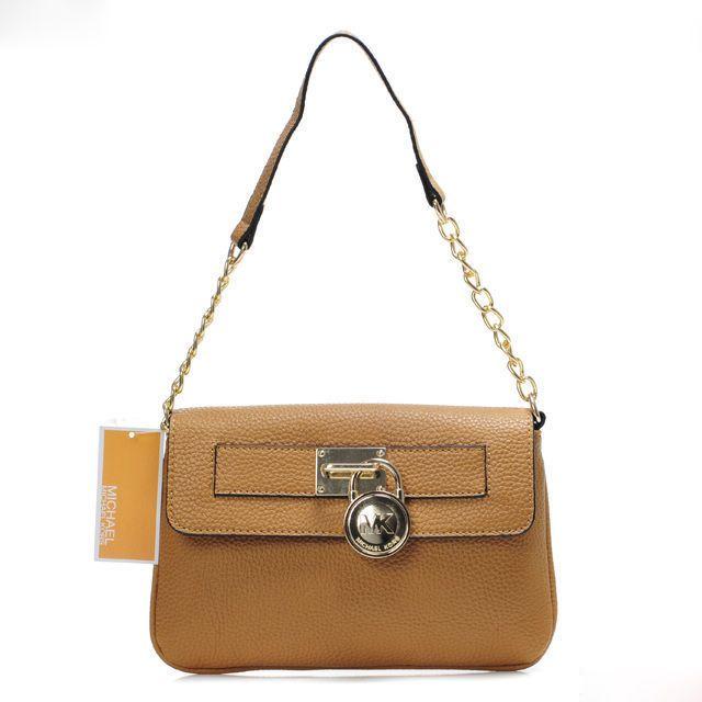 Michael Kors Hamilton Crossbody Bag Brown
