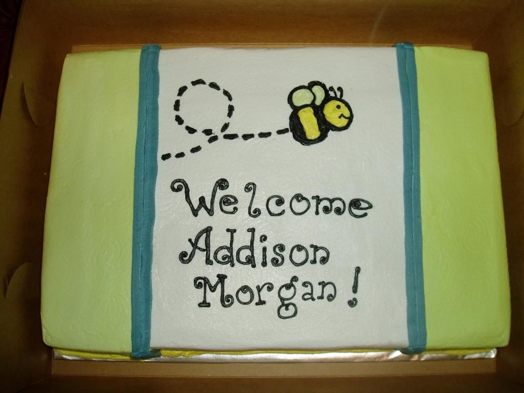 """still looking for a """"What will it Bee?"""" cake for baby shower"""
