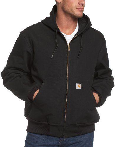 Carhartt-Mens-Thermal-Lined-Duck-Active-Jacket-J131-Black-Medium-Regular-0