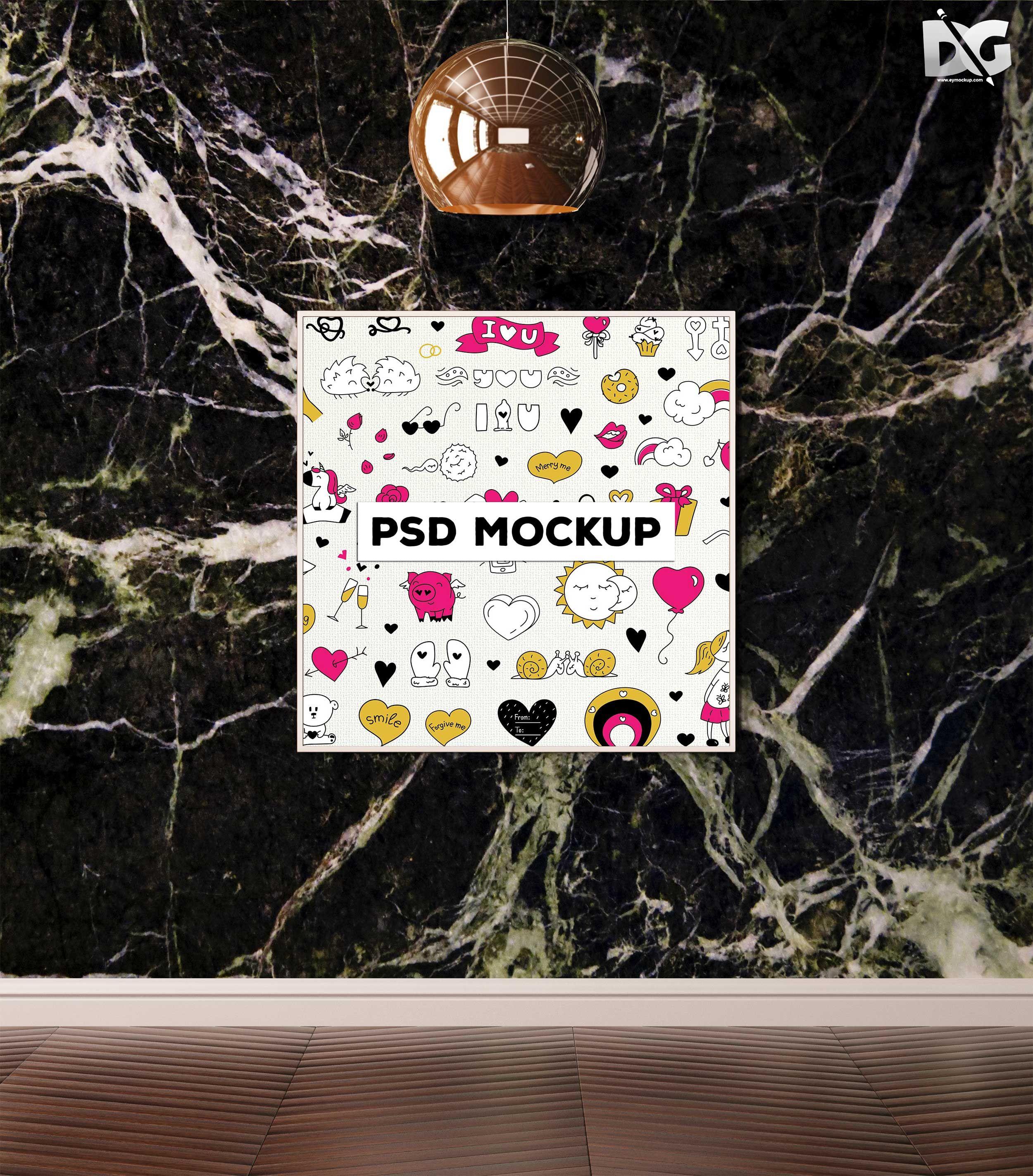 Download Free Mock Up Plain Poster Presentation Psd Free Logo Mockup Mockup Free Psd Free Logo Psd