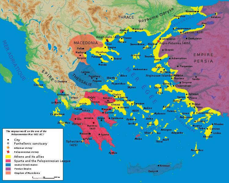 Peloponnesian War Ancient greece History and Mycenaean