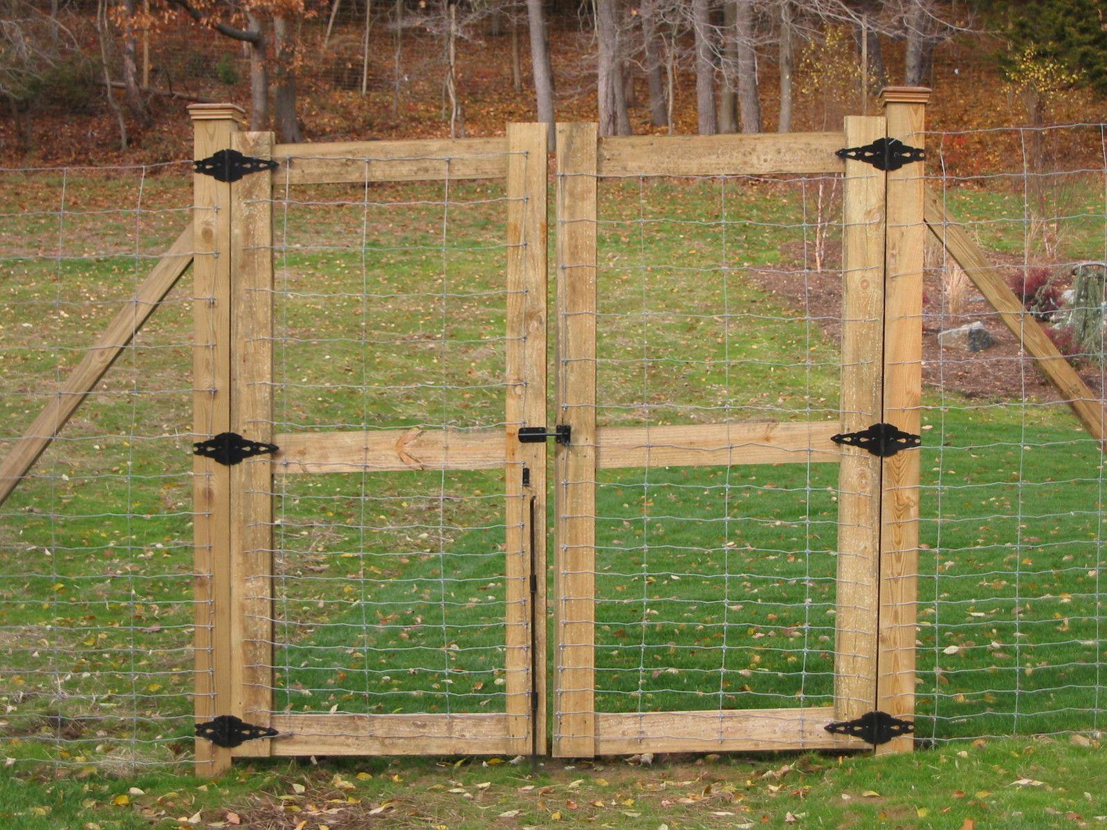 Deer Fencing Md And Sons Fencing Nj Diy Garden Fence Deer Fence Backyard Fences