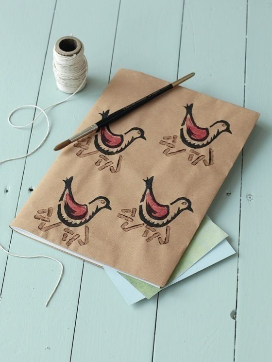 Brown Paper Bird Book Cover