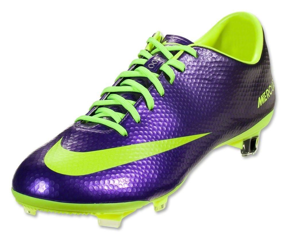 Buy Nike Mercurial Vapor IX FG - Electro Purple/Volt Black Firm Ground Soccer  Shoes on SOCCER. Shop for all your soccer equipment and apparel needs.