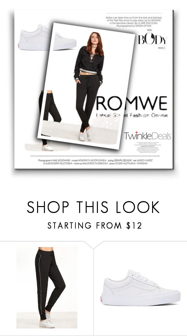 """""""Rome"""" by sanela-m ❤ liked on Polyvore featuring Vans and Kershaw"""