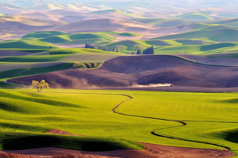 The Palouse Scenic Byway is one of America's most insanely