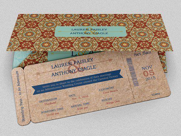 Adventure Boarding Pass Invitation by Godserv Designs on - best of invitation template boarding pass