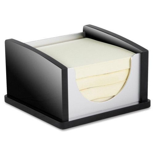 #Kantek Memo Pad Holder, Aluminum, Black/Acrylic $11.94