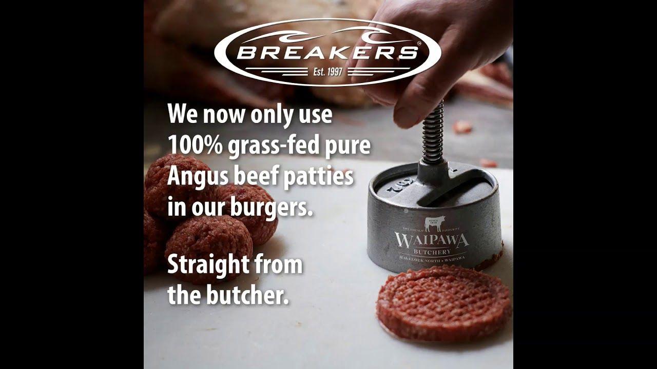 Breakers Waipawa Butchery A Match Made In Burger Heaven In 2020 Angus Beef Butchery Beef Patty