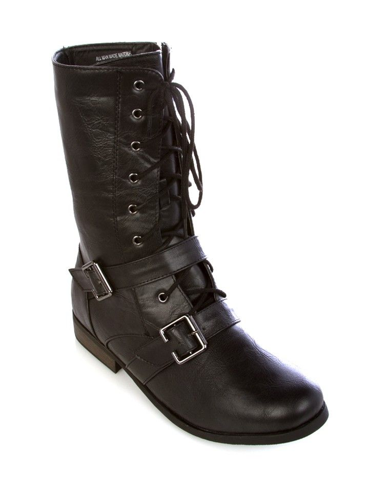 Combat Boots - Footwear - Clearance | Shoes | Pinterest | Anfibi ...