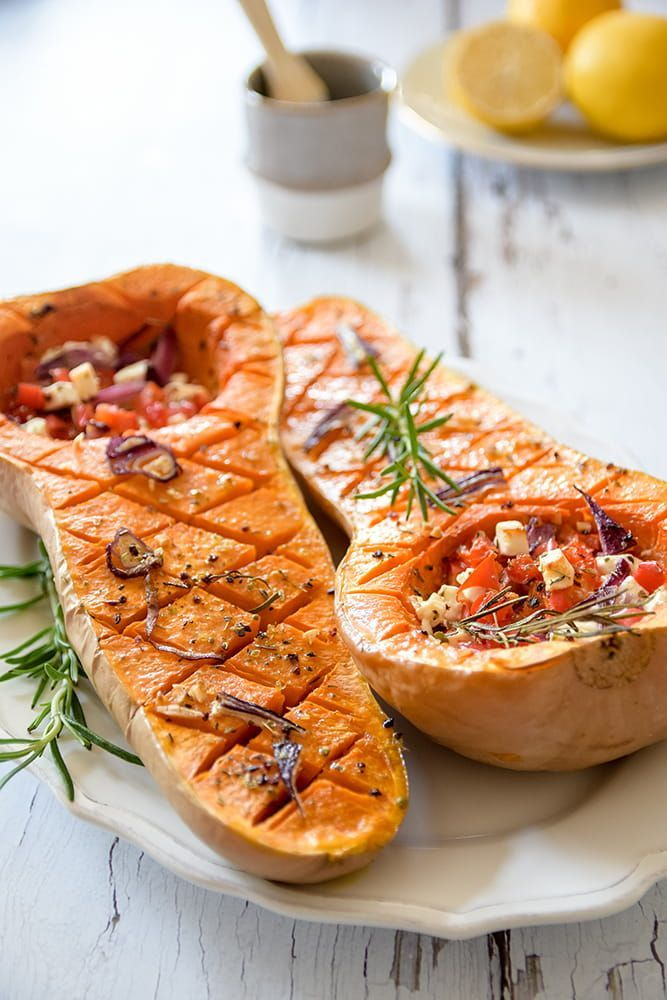 Photo of Oven-baked Mediterranean butternut squash – Home and Herbs