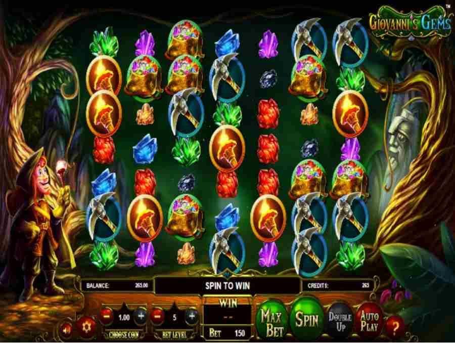 Giovannis Gems Slot Machine