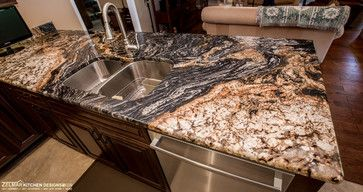 Merveilleux Exotic Granite Kitchen Countertops | 66,351 Kitchen With Exotic Granite  Countertop A Home Design Photos