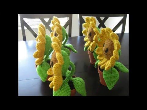 FREE PATTERN Amigurumi: Happy Sunflower – Ink & Stitches | Plants vs ...