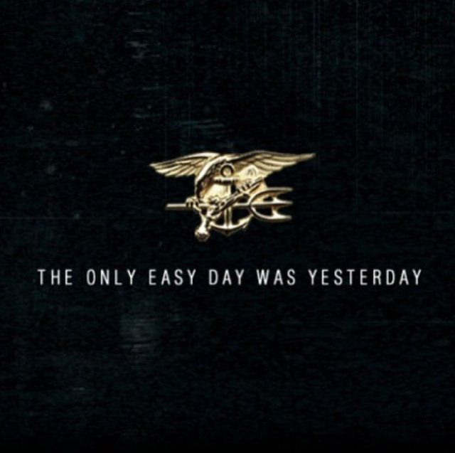 Only easy day was yesterday | Military | Pinterest