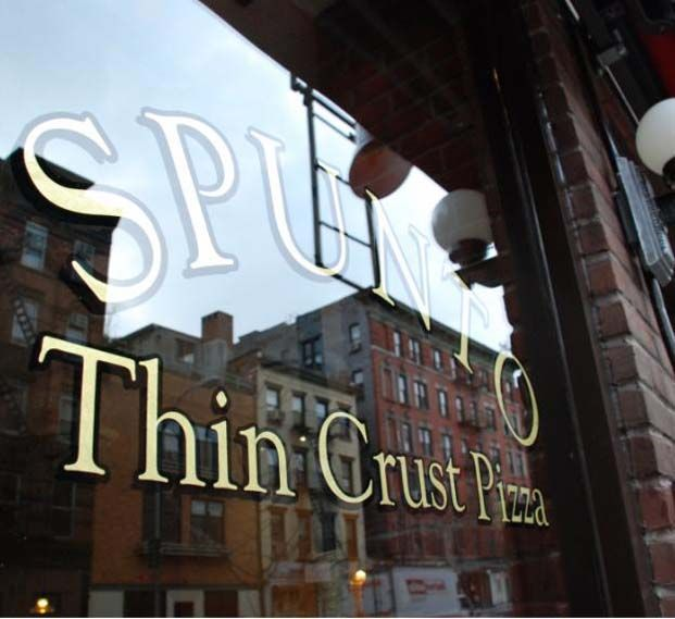 Spunto Thin Crust Lunch On Carmine Street Great Special