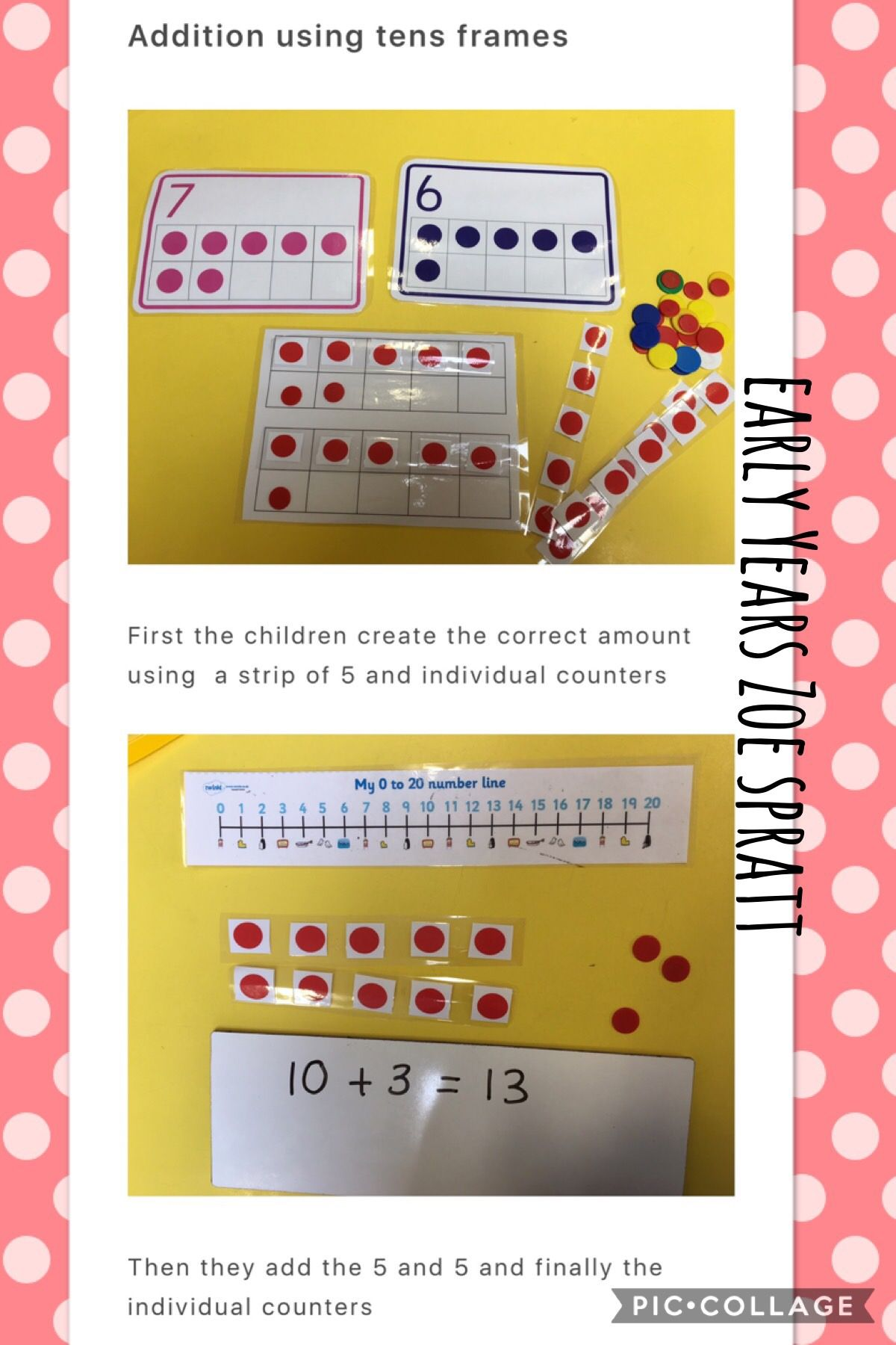 Tens Frame Addition With Images