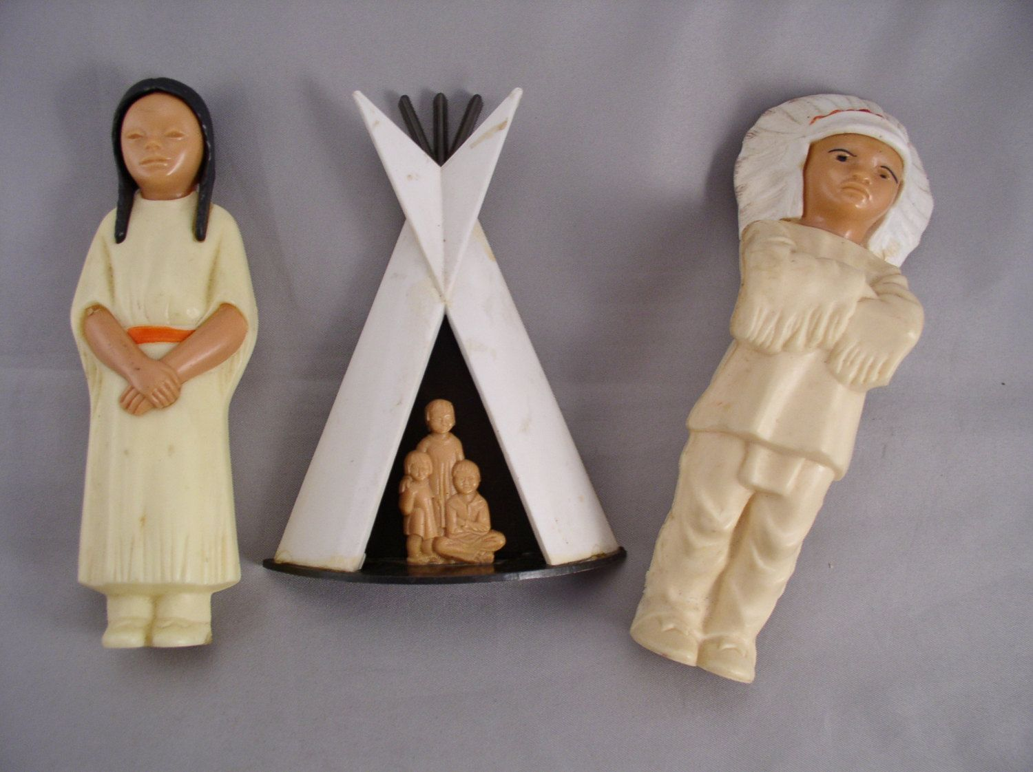Something is. Indian tee pees for dolls