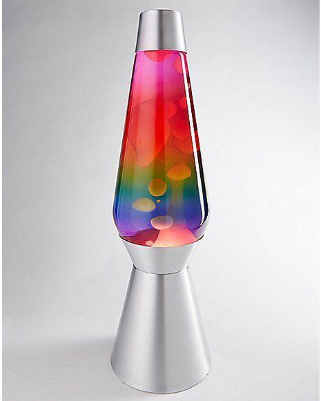Lava Lamp 27 Inch 7 Color Rainbow Liquid Spencer S Cool Lava