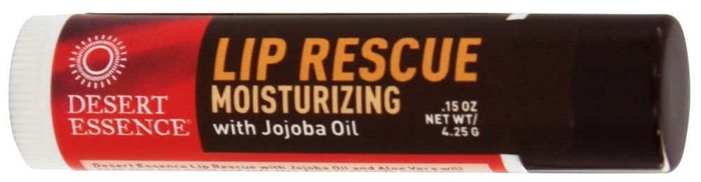 Lip Rescue Moisturizing with Jojoba Oil - 0.15 oz.Desert Essence #jojobaoil