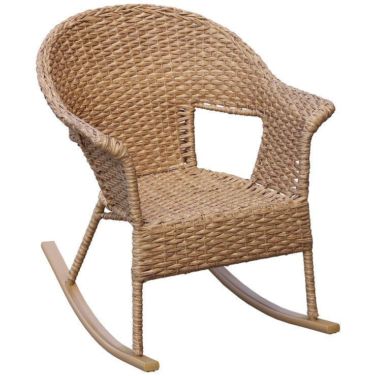 Banana Leaf Rocking Chair Caramel Wicker Rocking Chair Rocking Chair Wicker Rocker