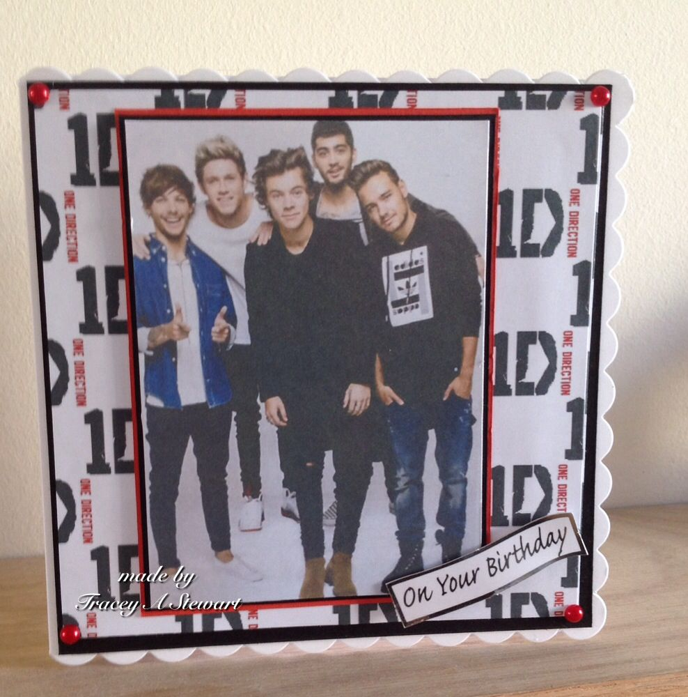One Direction Birthday Card This Is So Good One Direction Birthday Cards Birthday Cards
