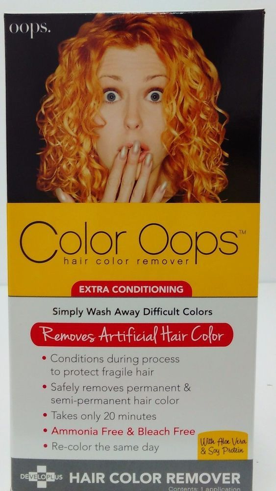 Color Oops Hair Color Remover Extra Conditioning Hair Dye Remover