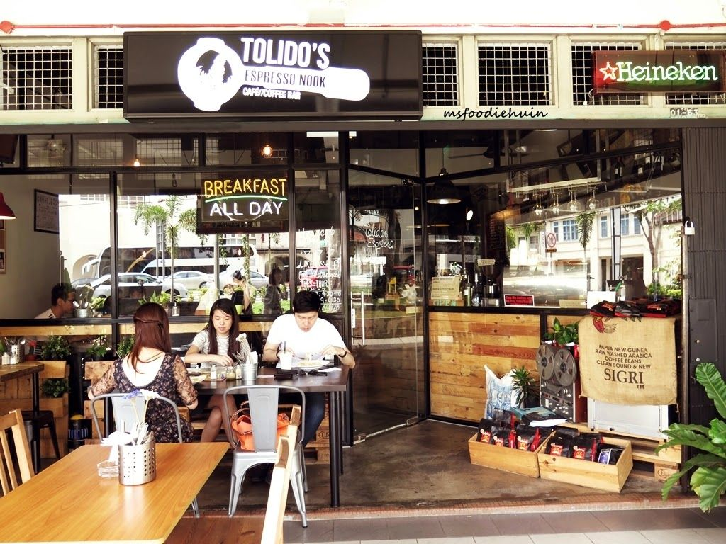 Tolidos Espresso Nook Singapore Aspirantsg Jpg 1 024 768 Pixels Nook Places To Eat Espresso