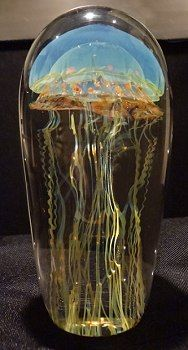 Richard Satava Blue Moon Glass Jellyfish  We have a large selection of the Satav…