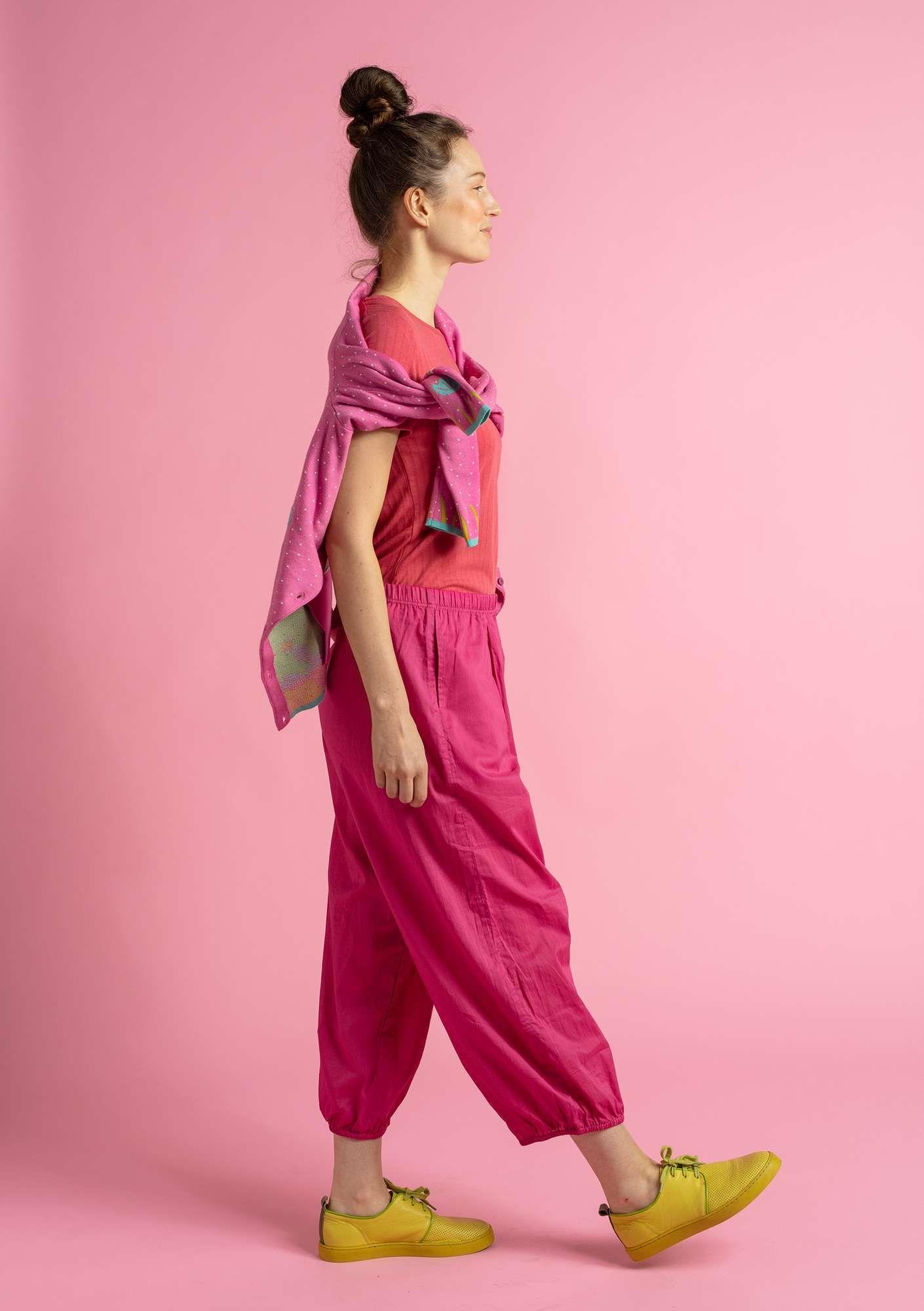 """Pepo"" pants in ecocotton Gudrun Sjödén Fashion"