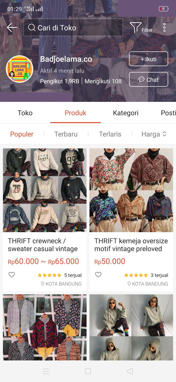 Baju Thrift