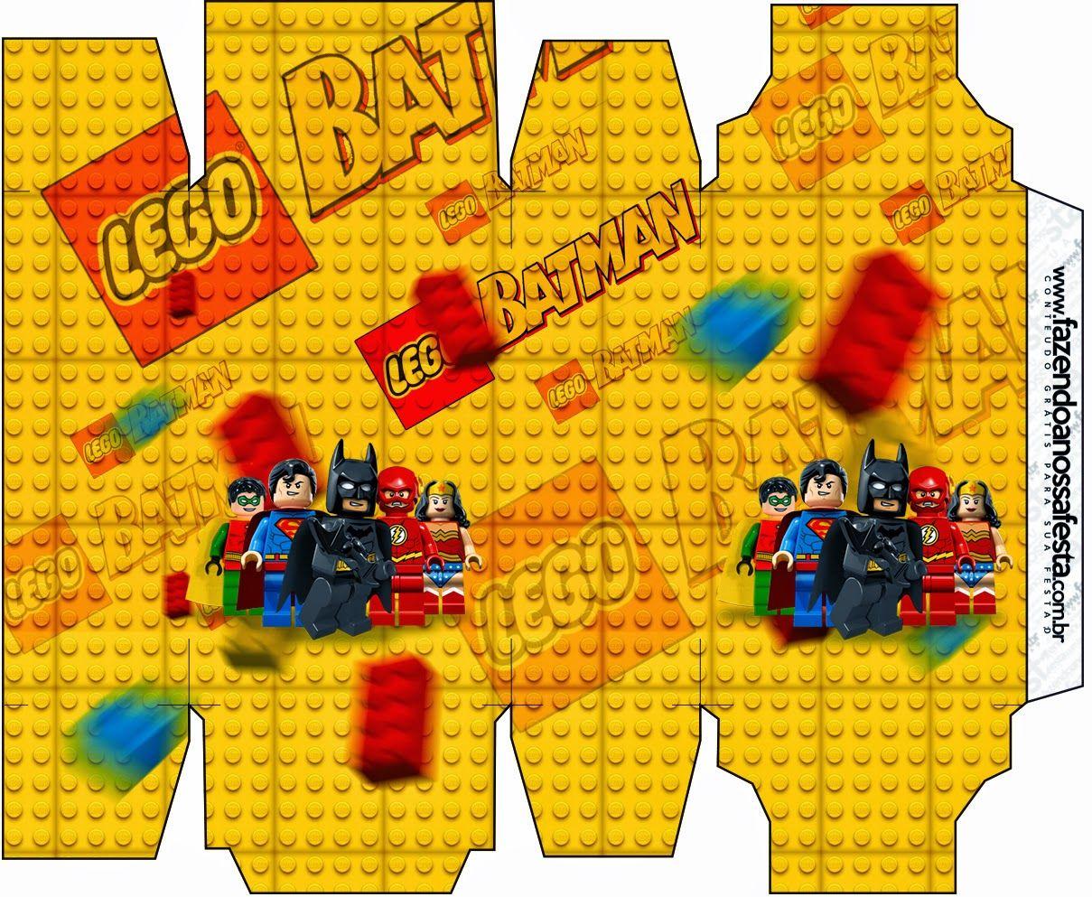 Lego Película: Cajas para Imprimir Gratis.   Cumpleaños   Pinterest ...