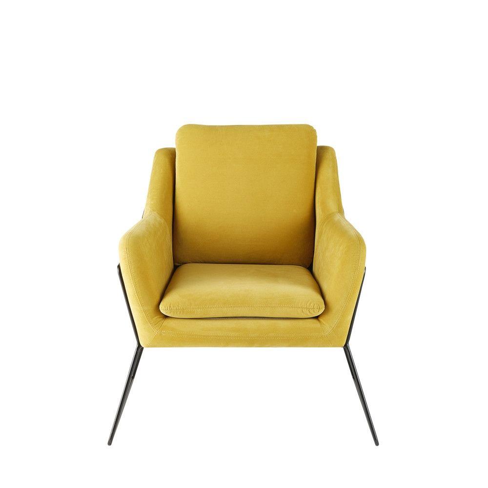Seating In 2019 Velvet Armchair Armchair Mustard Yellow