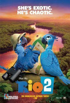 Resultado De Imagen Para Posters De Peliculas Del 2014 Rio La Pelicula Rio 2 Peliculas