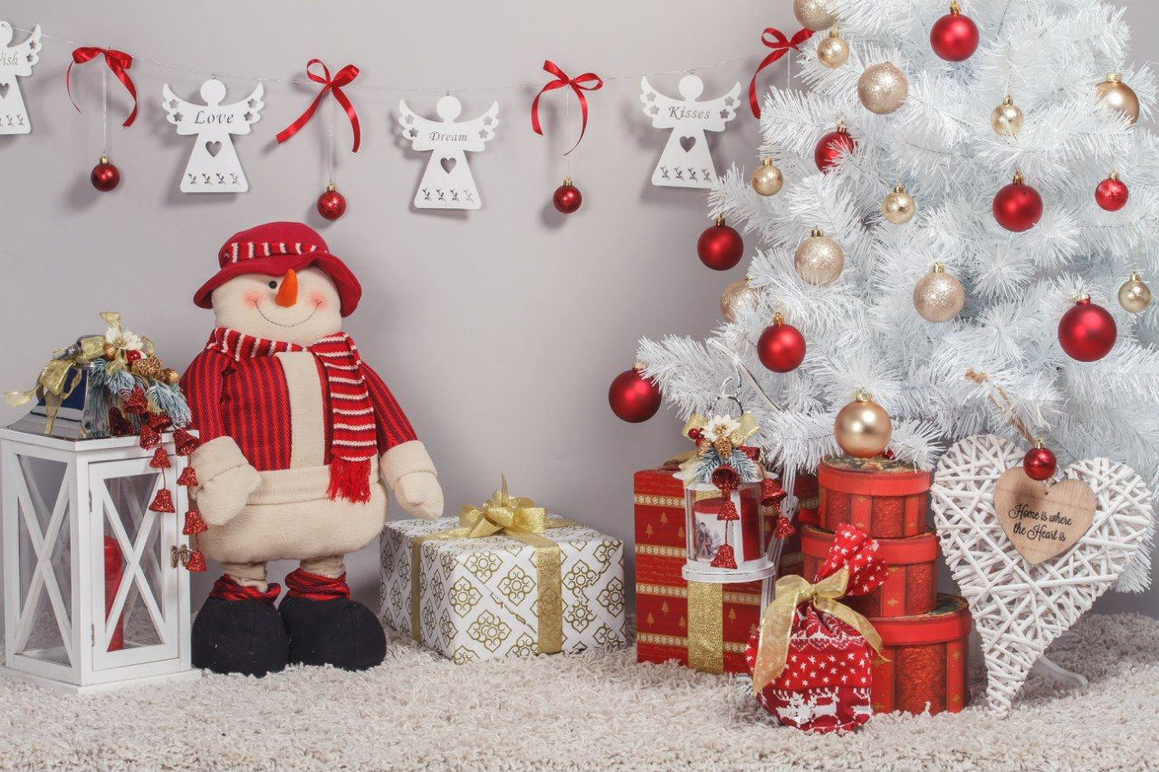 Создание новогодней фотозоны дома