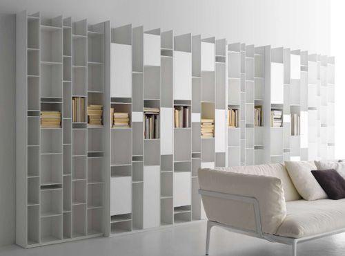 modular wall storage systemmdf italia – random | design