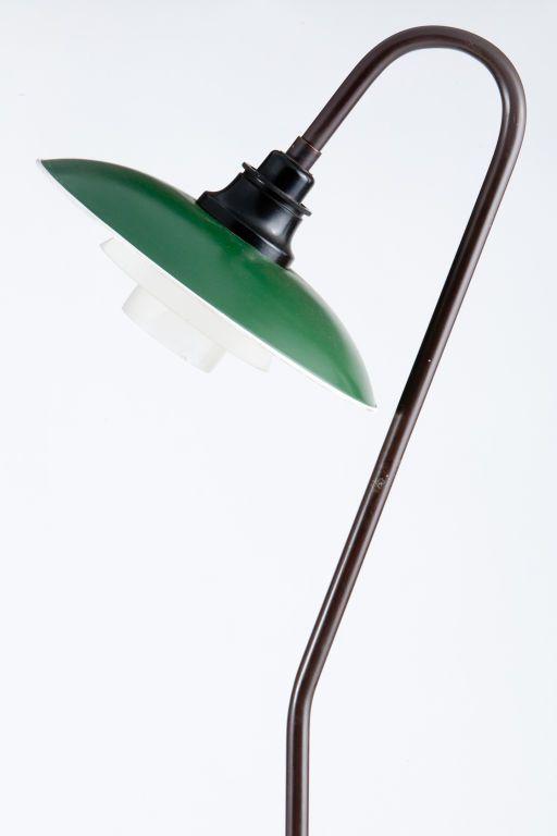 Poul Henningsen 3/2 floor lamp for Louis Poulsen, 1940's