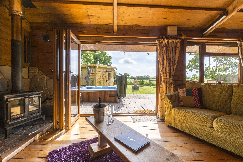 Honey Lodge Retreat Rustic Living Meets Luxury In Kent Lodges